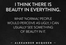 Alexander McQueen /  I don't think I've ever seen something of his I haven't adored! So I just had to make a board for his beautiful creations...  Lee Alexander McQueen (17 March 1969 – 11 Feb 2010)