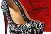 Louboutin Love / 'A woman can carry a bag but it's the shoe that carries the woman'. - Christian Louboutin.