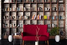 bookcase / könyvespolc