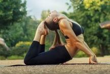 """Yoga ♡ / """"Yoga is the journey of the self, through the self, to the self"""" - The Bhagavad Vita."""