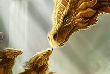 Dragons & Wizards / by Bonny Davidson