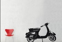 """Stickers - Italie  / La chaleur et la dolce vita italienne illumineront votre pièce ! Ajoutez une note ensoleillée à votre décoration d'intérieur grâce à cette collection """"Italie"""" inspirée d'éléments qui symbolisent le pays."""