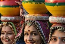 Colors of India / The most colorful part of geography, India is a rich collage of cultural, festive, religious, rural and urban colors. Indians are known for colorful attires, accessories and interior décor. The pins speak the rest. Spread the colors of India with IndianEagle.com.