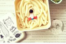 Bento lunch buddies / Fun creative bento ideas