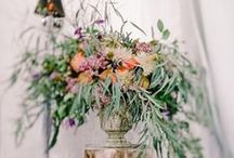 wedding floral decor kristina-ageeva.com / decoration flowers wedding. Flowers on the mirrors, pillars and chandeliers. Gentle flowers of cream, white and purple shades. Chrysanthemum, the flower clematis, lilac, rose, Ranunculus, eucalyptus.