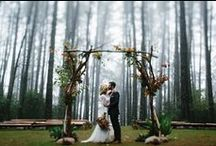 Wedding Inspiration: Forest / Meet us in the woods!