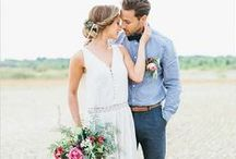 Wedding Inspiration: Boho / Bohemian style for the modern gypsy.