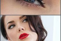 Inspirations make-up / Mes maquillages favoris
