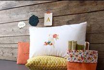 Cojines Infantil / cojines en forma de nube, champiñón, cuadrado etc... en algodón 100%, de diseño exclusivo.