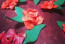 SANT JORDI / Los encargos realizados para el fantástico dia de la rosa. Sant Jordi