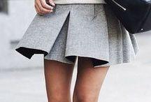 Dresses, skirts, shorts...