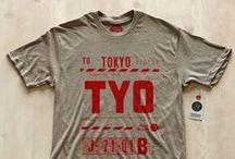 Retro vibe T-SHIRTS / #t-shirt #vintage #retro #stomp #print #grunge #aged #old