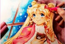 Sailor Moon Fan Art / Contribution of images