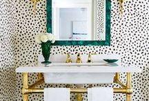 B A T H / Bathroom inspiration.