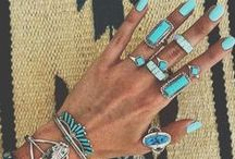 SILVER & TURQUOISE / silver and turquoise aroun the world: gipsy...boho...indian..navajo...moroccan...nepal...
