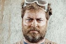 Offerman Woodshop / Because he's a bad @ss...and our wood working hero!!