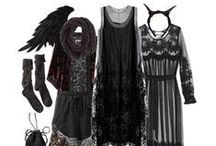 Dark Mori-Strega / Dark mori girl and strega fashion