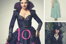 Once Upon a Time / Once Upon a Time, Emma Swan, Evil Queen, Regina, Hook, Snow White, Charming, Rumplestiltskin, Belle, Ruby.