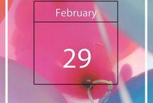 Schrikkeldag / 29 Februari