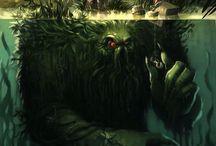 """Creature, Dark, depths"" / Sea monsters"