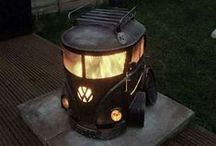 Get Your Grill On! / Grills, fire pits, anything we can light up and make some food or some heat ;)
