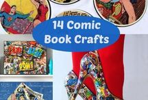 Superhero DIY / DC and Marvel DIY crafts, decor, holiday, decorations, clothes, jewelry.