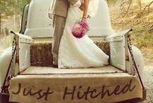 I Choose You... / Modern, rustic wedding ideas