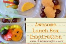 Lunch box and picnic ideas / Forever on the go, have to grab, eat and be healthy