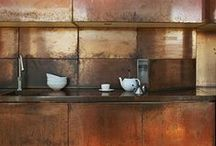 kitchen and bathroom / by Laureen Rossouw