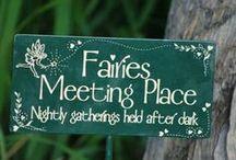 Faerie dwellings / I do believe in faeries ...I do...I do
