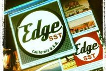 Edge SST CALI Strong / What we are up to with our skate shoes, skateboards, and people.