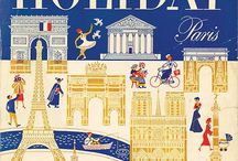 Holiday Magazine Covers / A selection of cover designs from Holiday magazine, an American magazine published from 1946 to 1977 by Philidelphia based Curtis Publishing.