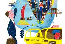 New York Illustrated / Various illustrations of New York