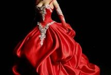 FANCY BARBIE DRESSES