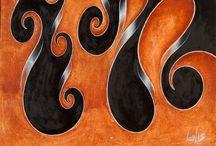 Mark Lewis Fine Art / A collection of my Original Abstract Art Oil Paintings_____#AbstractArt #OilPiantings #art #abstractart #oilpainting #paintings #modernart #contemporaryart #homedecor #interiordesign #lines #swirl #wave #minimalism #artcurator #minimalart #artist #artistic #design #fineart #artwork #artprint #tribal #organic #decorative #ethnic #tribal# fluid #flowing #atmospheric #pattern #ribbon #spiral #organic geometry #kaleidoscope #repetitive #mandala #society6 #redbubble #pixels #fineartamerica #zazzle