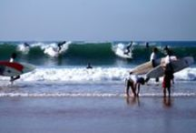 Carcavelos / One of the liveliest beaches near Lisbon, with clear water, soft sand and smooth waves for surfing.