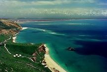 Setubal / An hour's drive from Lisbon, with unspoilt soft sand and blue water beaches and great gastronomy.