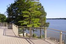 Railing / Superior Aluminum Products has offered the finest in railing design features available. Utilizing all the advantages of aluminum, Superior railing products are strong, durable, rust and corrosion-free.
