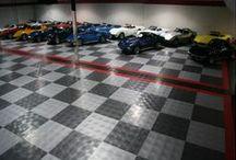 Garage Floor / Spruce up your garage with amazing garage flooring!