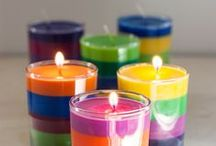 C A N D L E S / a collection of candles