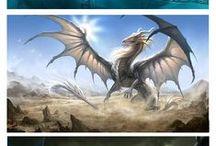 Dragones / Dragones y cualquier bicharraco que se les parezca... Ah, y referencias para dibujarlos :D