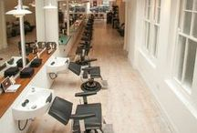 The Salon / Our hair salon for your viewing pleasure.