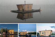 Instagram / saunalautta, Kesän Sauna, Oulun Sauna, yleinen sauna, sauna, Oulu, public sakna, floating sauna A volunteer-run public sauna in Oulu, Finland. Come visit us, more information on our homepage www.oulunsauna.fi