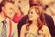 Dramione / No need for words am i right