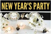 New Year's Eve Party Ideas / New Year's Eve Party Ideas, New Year's Eve Playlists, New Year's Eve Favor Ideas & Games. You'll love these New Year's Eve Desserts and Recipes!