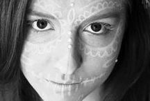 HALLOWEEN / makijaż i stylizacja: Milka Giemza fot. Mo Sasal w Milka Giemza Studio