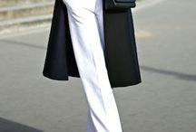 Slacks and Blazers / Stylish slacks