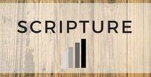 Scripture / Illustrations featuring Bible verses.