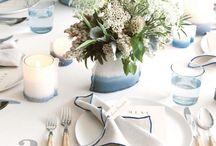 limelight | blue + white