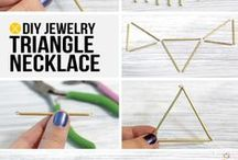 DIY - Jewelry / Ideas on how to make your own jewelry, or remake your old ones